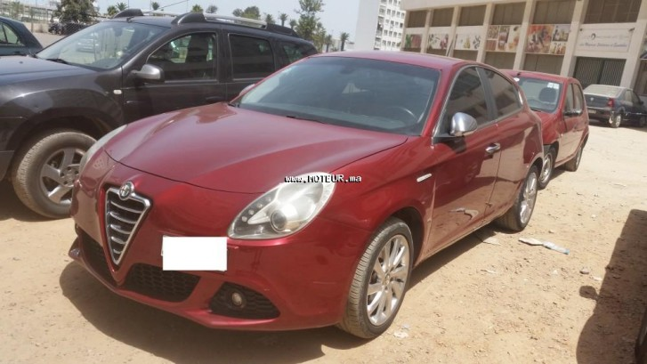 alfa romeo giulietta 2011 diesel 108502 occasion casablanca maroc. Black Bedroom Furniture Sets. Home Design Ideas