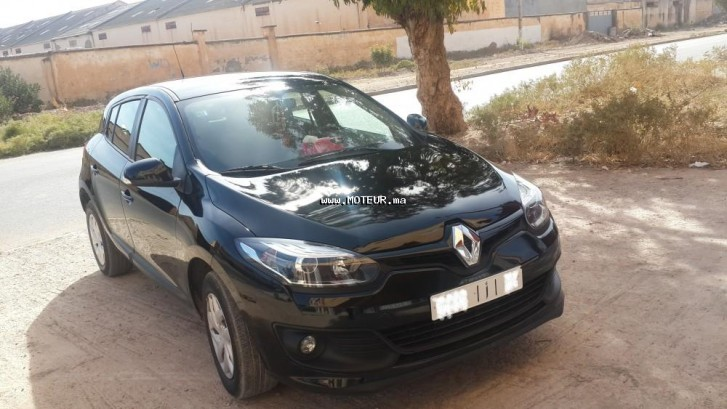 renault megane 1 5 dci 2014 diesel 75445 occasion beni mellal maroc. Black Bedroom Furniture Sets. Home Design Ideas