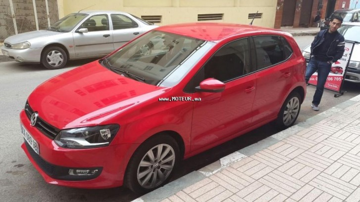 volkswagen polo 1 6 2012 diesel 108223 occasion rabat maroc. Black Bedroom Furniture Sets. Home Design Ideas