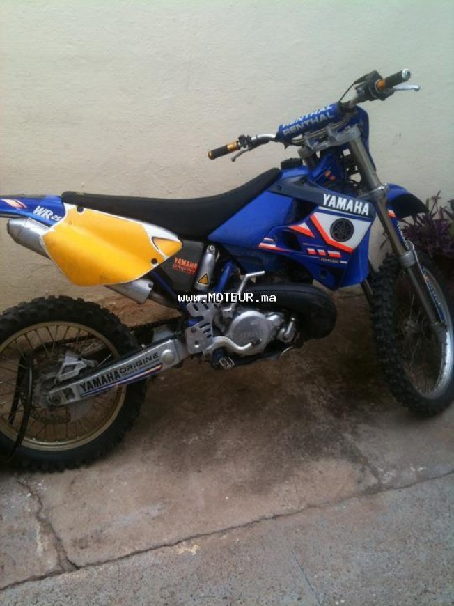 moto yamaha wr 250 f au maroc occasion vendre. Black Bedroom Furniture Sets. Home Design Ideas