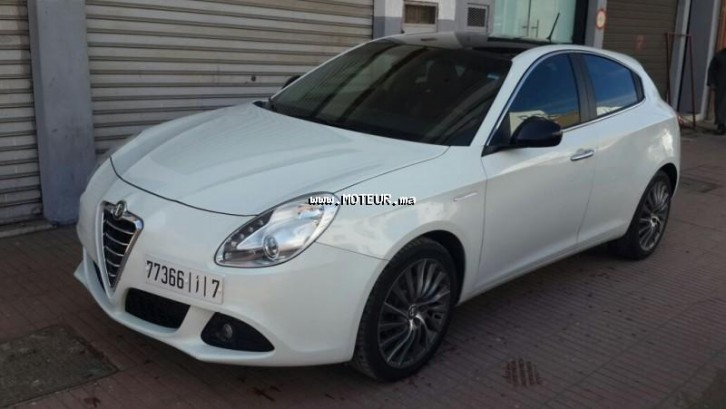 alfa romeo giulietta 2 0 2014 diesel 63019 occasion casablanca maroc. Black Bedroom Furniture Sets. Home Design Ideas