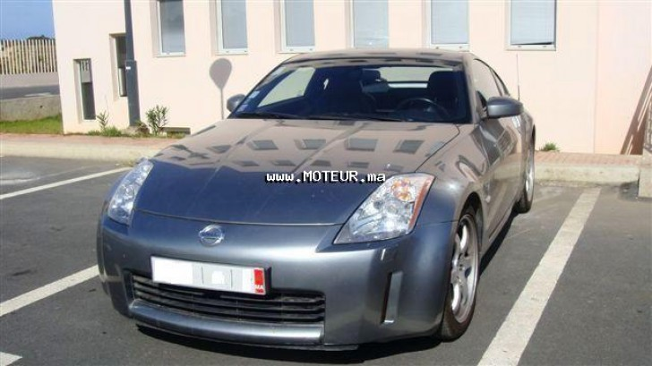 nissan 350z v6 2004 essence 19484 occasion rabat maroc. Black Bedroom Furniture Sets. Home Design Ideas