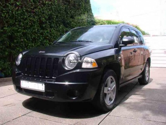 jeep compass 2 0 crd 2009 diesel 45257 occasion rabat maroc. Black Bedroom Furniture Sets. Home Design Ideas