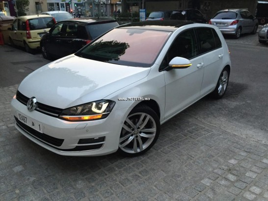 volkswagen golf 7 2 0 tdi 2015 diesel 70305 occasion tanger maroc. Black Bedroom Furniture Sets. Home Design Ideas