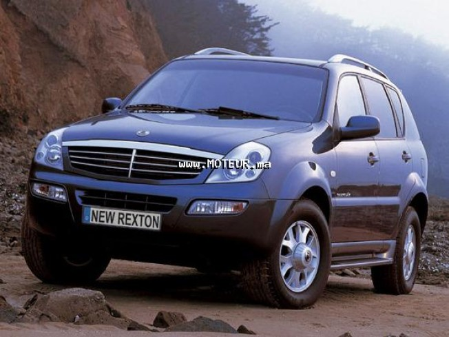 ssangyong rexton 270xdi 2005 diesel 45578 occasion rabat maroc. Black Bedroom Furniture Sets. Home Design Ideas
