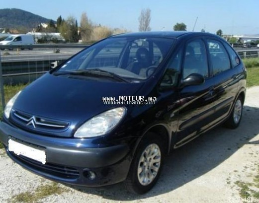 citroen xsara picasso 2003 essence 15953 occasion casablanca maroc. Black Bedroom Furniture Sets. Home Design Ideas