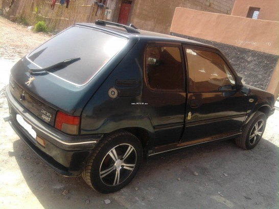 peugeot 205 1987 diesel 12968 occasion marrakech maroc. Black Bedroom Furniture Sets. Home Design Ideas