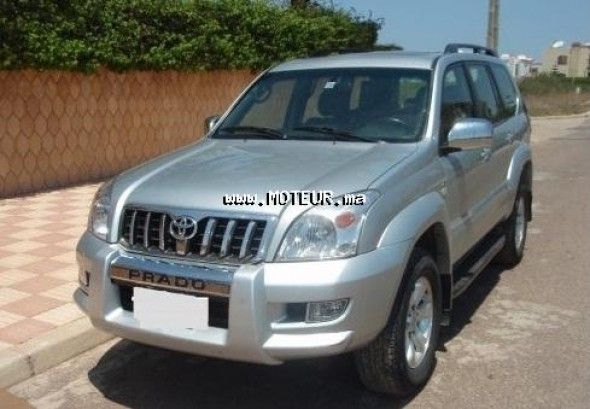 toyota prado 2009 diesel 33516 occasion agadir maroc. Black Bedroom Furniture Sets. Home Design Ideas