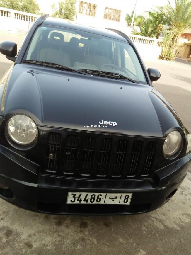 jeep compass 2007 diesel 109336 occasion dar bouazza maroc. Black Bedroom Furniture Sets. Home Design Ideas