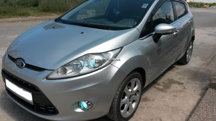 ford fiesta 1 4 tdci 2010 diesel 65866 occasion rabat maroc. Black Bedroom Furniture Sets. Home Design Ideas