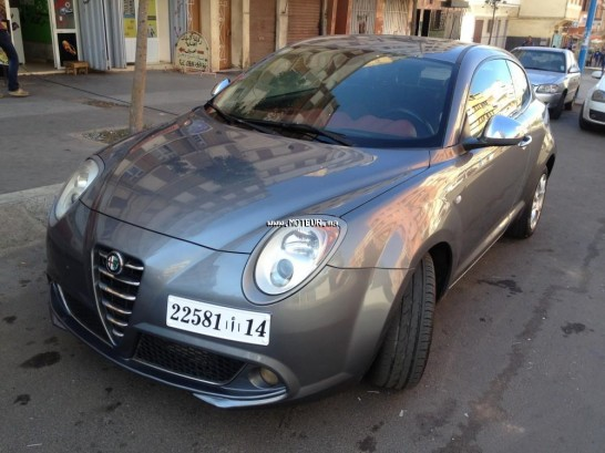 alfa romeo mito 2011 diesel 73135 occasion casablanca maroc. Black Bedroom Furniture Sets. Home Design Ideas