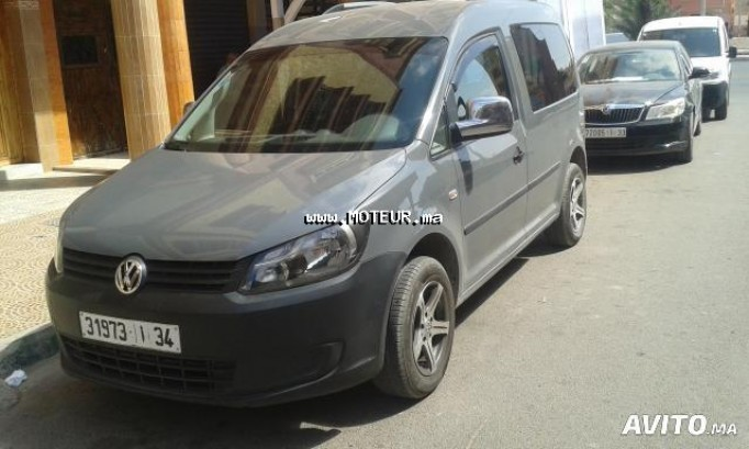 volkswagen caddy 2011 diesel 71044 occasion agadir maroc. Black Bedroom Furniture Sets. Home Design Ideas