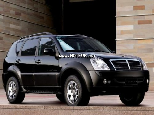 ssangyong rexton cdi 2010 diesel 14963 occasion casablanca maroc. Black Bedroom Furniture Sets. Home Design Ideas