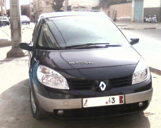 renault scenic 1 9 dci 2007 diesel 34467 occasion agadir maroc. Black Bedroom Furniture Sets. Home Design Ideas