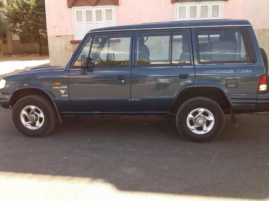 hyundai galloper 2001 diesel 112225 occasion tiflet maroc. Black Bedroom Furniture Sets. Home Design Ideas