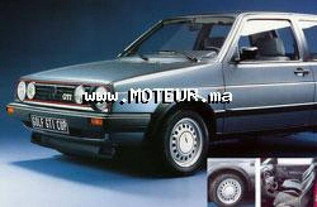 volkswagen golf 2 1986 diesel 36880 occasion bouskoura maroc. Black Bedroom Furniture Sets. Home Design Ideas