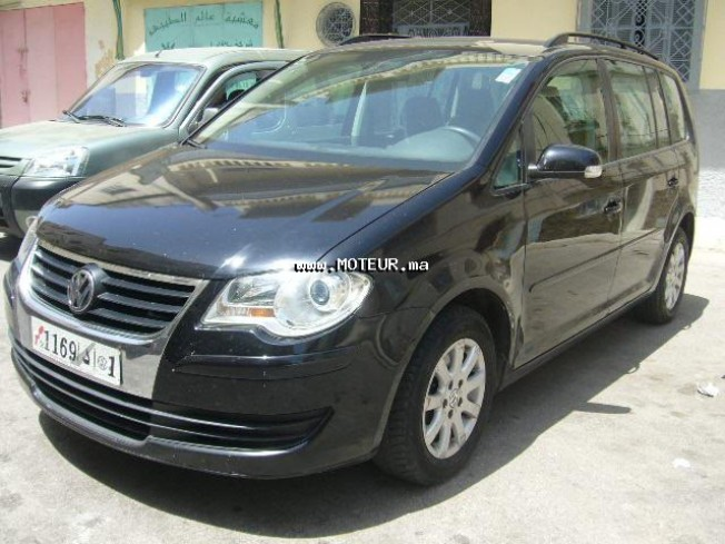 volkswagen touran tdi 7 places 2009 diesel 23618 occasion casablanca maroc. Black Bedroom Furniture Sets. Home Design Ideas