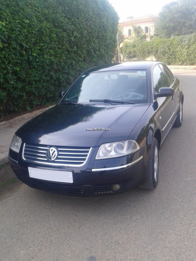 volkswagen passat 2002 diesel 106793 occasion casablanca maroc. Black Bedroom Furniture Sets. Home Design Ideas