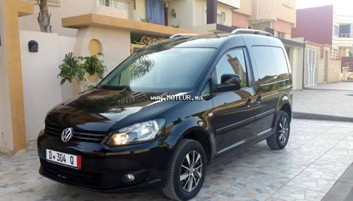 volkswagen caddy 1 6 tdi 2011 diesel 70707 occasion oujda maroc. Black Bedroom Furniture Sets. Home Design Ideas