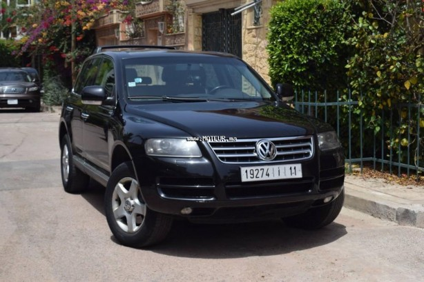 volkswagen touareg 2006 diesel 107660 occasion casablanca maroc. Black Bedroom Furniture Sets. Home Design Ideas