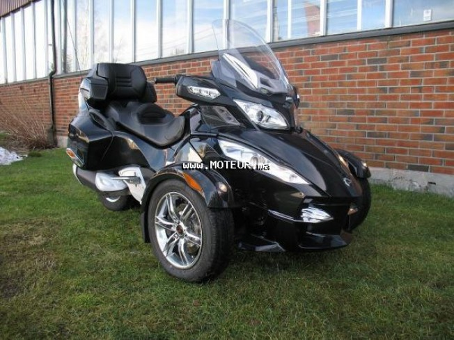 can am spyder 125 2008 occasion 130922 azemmour maroc. Black Bedroom Furniture Sets. Home Design Ideas