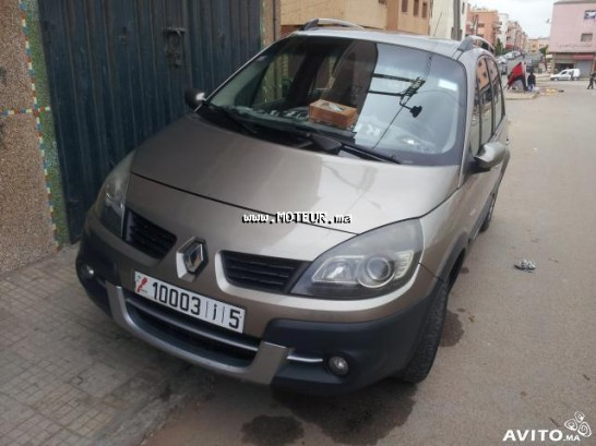 renault scenic conquest 2009 diesel 29961 occasion casablanca maroc. Black Bedroom Furniture Sets. Home Design Ideas