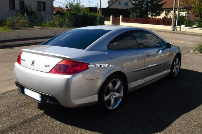 peugeot 407 coupe 2006 diesel 88768 occasion fes maroc. Black Bedroom Furniture Sets. Home Design Ideas