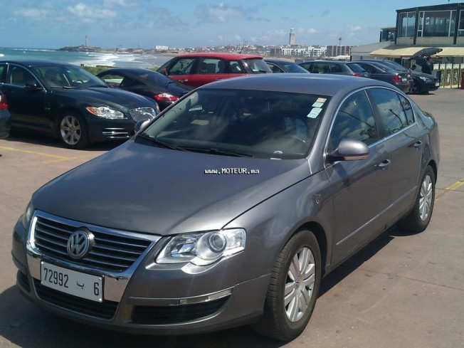 volkswagen passat 1 9 tdi 2007 diesel 69473 occasion casablanca maroc. Black Bedroom Furniture Sets. Home Design Ideas