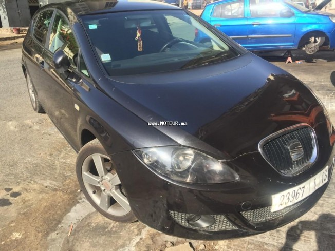 seat leon 2 tdi 2007 diesel 70731 occasion casablanca maroc. Black Bedroom Furniture Sets. Home Design Ideas
