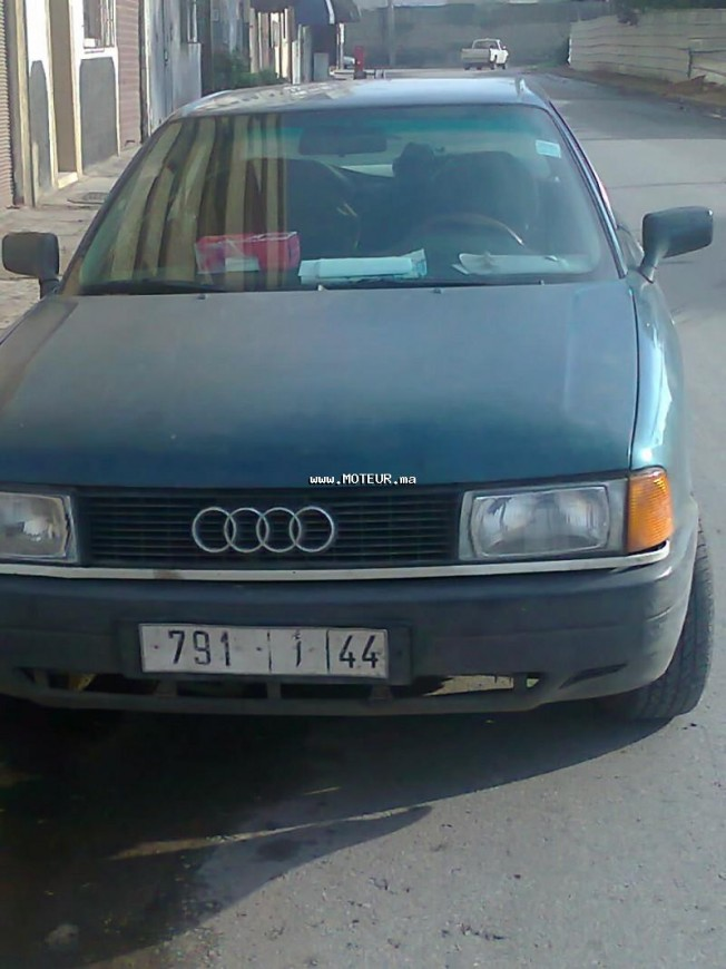 audi 80 turbo 1 9 1990 diesel occasion 38603 casablanca. Black Bedroom Furniture Sets. Home Design Ideas