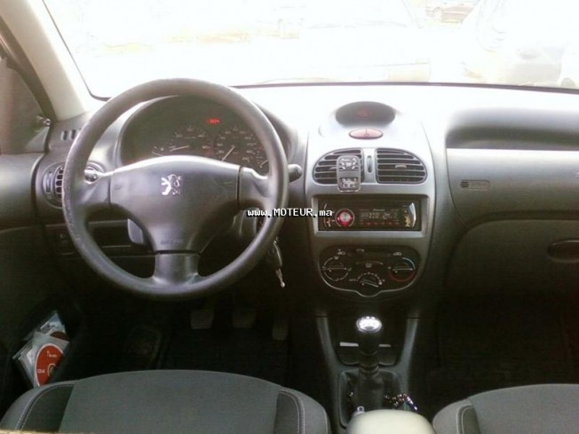 peugeot 206 1 4 hdi 2006 diesel 25557 occasion casablanca maroc. Black Bedroom Furniture Sets. Home Design Ideas