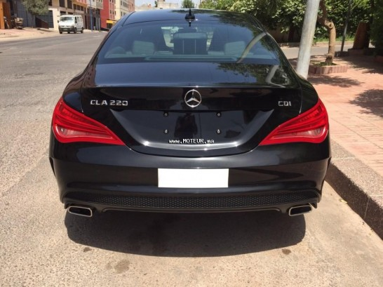 mercedes classe cla 220 pack amg 2015 diesel 68480 occasion casablanca maroc. Black Bedroom Furniture Sets. Home Design Ideas