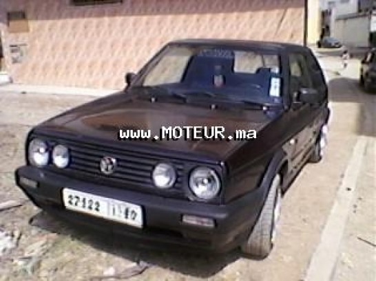 volkswagen golf 2 1986 essence 24162 occasion tanger maroc. Black Bedroom Furniture Sets. Home Design Ideas