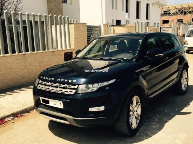 land rover range rover evoque occasion rabat maroc annonces voitures. Black Bedroom Furniture Sets. Home Design Ideas