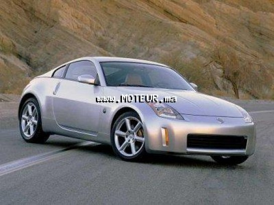 nissan 350z 2003 essence 16105 occasion rabat maroc. Black Bedroom Furniture Sets. Home Design Ideas