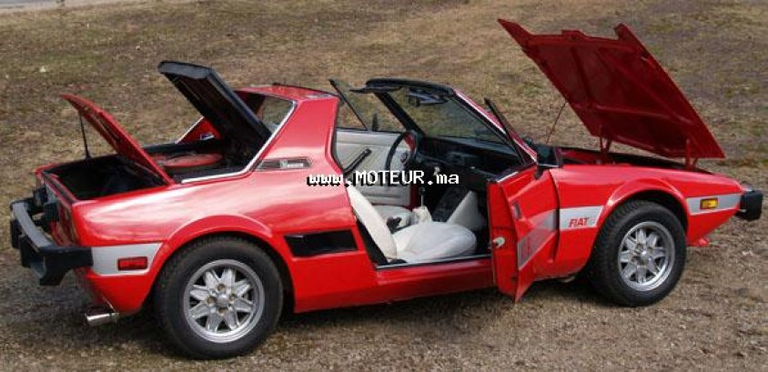 fiat bertone x1 9 berton 1983 diesel 64394 occasion meknes maroc. Black Bedroom Furniture Sets. Home Design Ideas