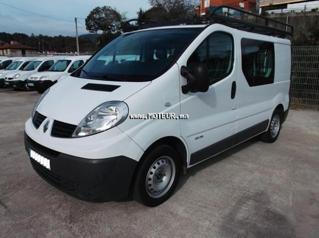 renault trafic 2 0 dci combi 6 2009 diesel 51191 occasion autre maroc. Black Bedroom Furniture Sets. Home Design Ideas