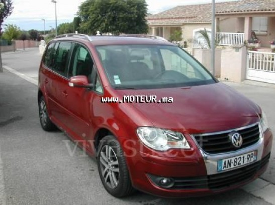 volkswagen touran tdi 1 9 105 ch 7 places 2007 diesel 21951 occasion casablanca maroc. Black Bedroom Furniture Sets. Home Design Ideas