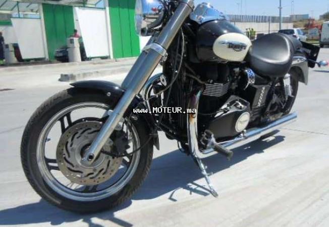 Moto au Maroc TRIUMPH Speedmaster 900 - 130518