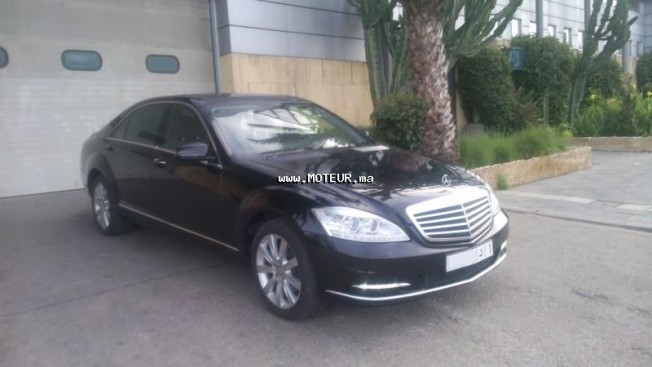 mercedes classe s s350 limousine 2012 diesel 49802 occasion casablanca maroc. Black Bedroom Furniture Sets. Home Design Ideas