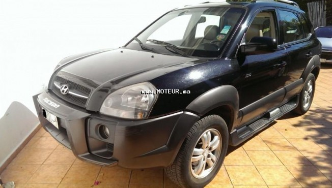 hyundai tucson 2 0 crdi 2007 diesel 50225 occasion rabat maroc. Black Bedroom Furniture Sets. Home Design Ideas