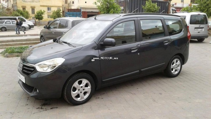 dacia lodgy 7places 2012 diesel 92286 occasion fes maroc. Black Bedroom Furniture Sets. Home Design Ideas