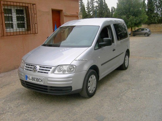 volkswagen caddy tdi 1 9 2007 diesel 22530 occasion khouribga maroc. Black Bedroom Furniture Sets. Home Design Ideas