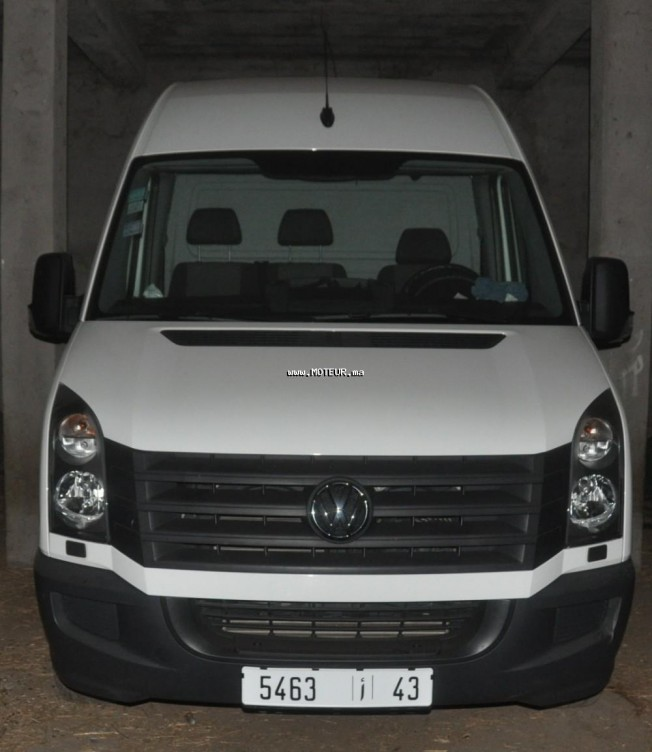 volkswagen crafter 2014 diesel 85128 occasion autre maroc. Black Bedroom Furniture Sets. Home Design Ideas