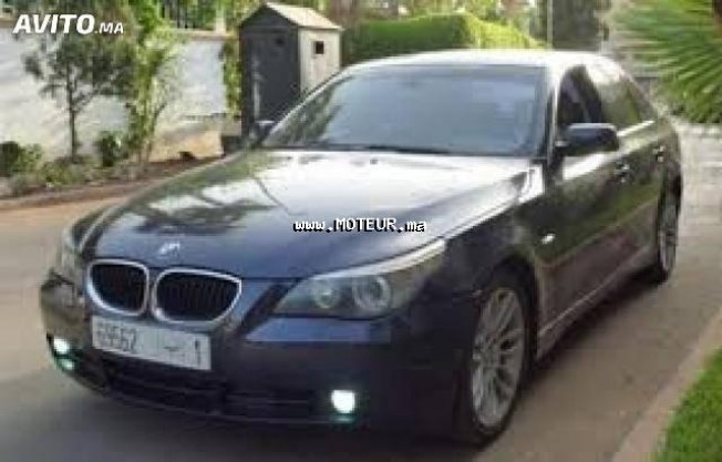 bmw m5 525d e60 2005 diesel 61902 occasion fes maroc. Black Bedroom Furniture Sets. Home Design Ideas