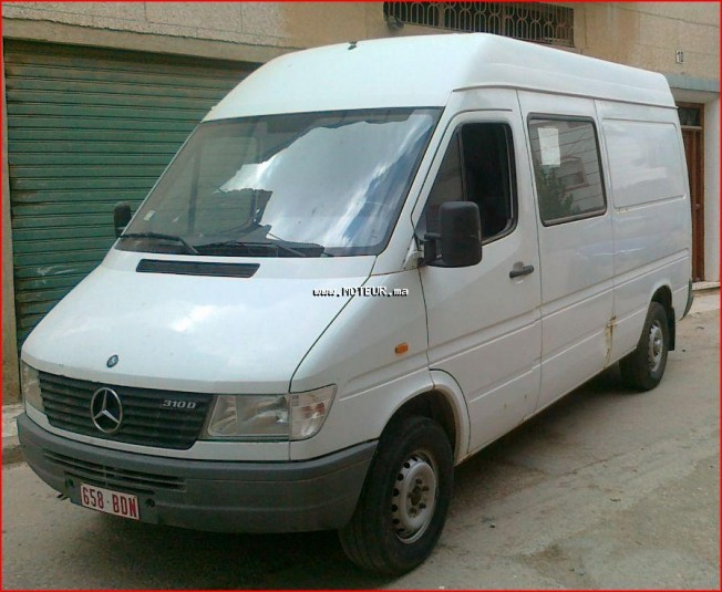 mercedes sprinter 310 1999 diesel 14882 occasion tetouan maroc. Black Bedroom Furniture Sets. Home Design Ideas
