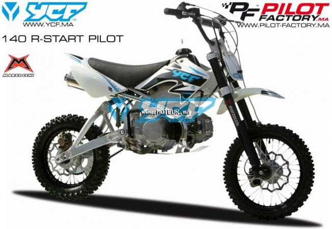Moto au Maroc YCF 140 r start pilot 140 r - 126906