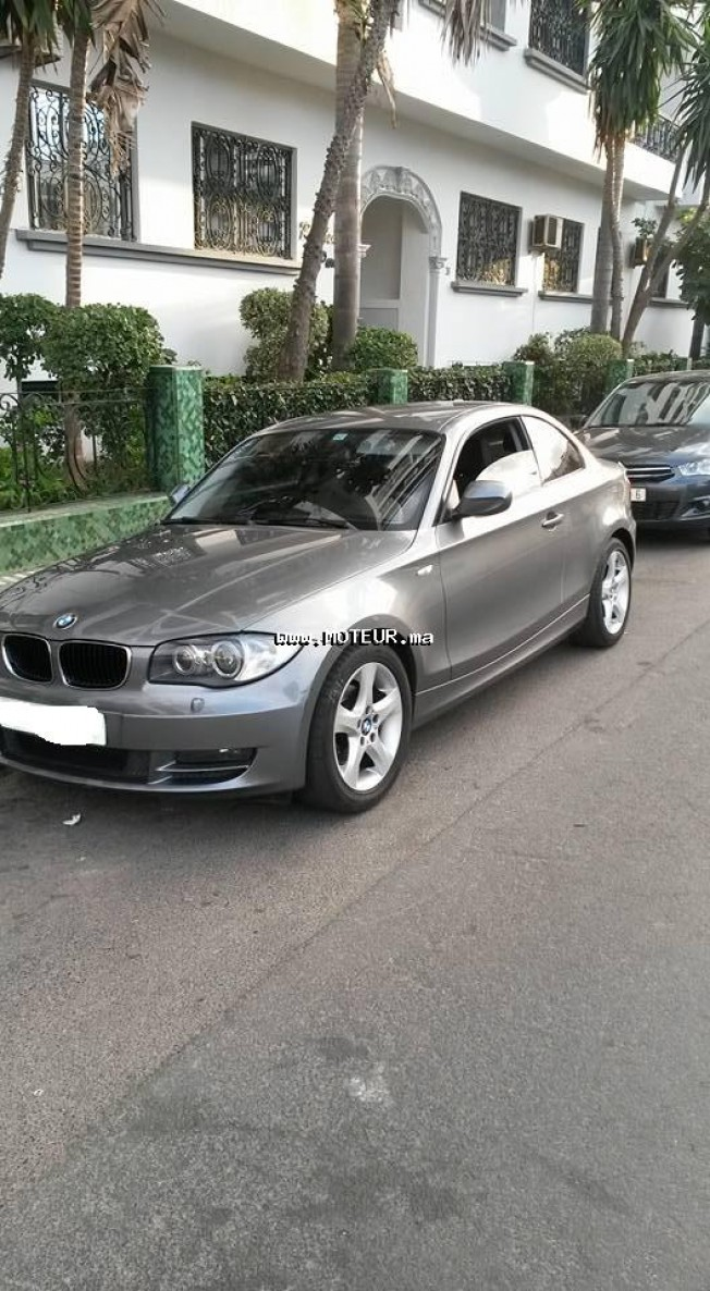 bmw serie 1 essence occasion bmw serie 1 occasion 2009 essence 119000km casablanca voiture bmw. Black Bedroom Furniture Sets. Home Design Ideas