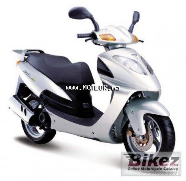 Moto au Maroc DAELIM Ns 125 iii - 123679