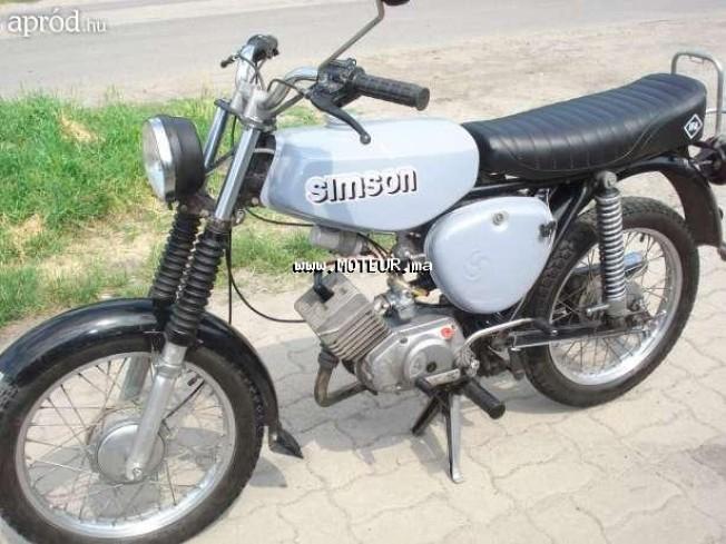 Moto au Maroc SIMSON S51 c - 129082